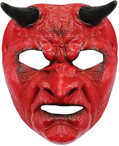 Evil Devil Gezichtsmasker Latex