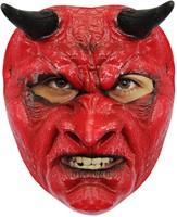 Evil Devil Masker Latex (Gezichtsmasker)  -2
