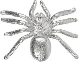Zilveren Glitter Spin (16x20cm)