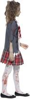 Halloweenkostuum Zombie Schoolmeisje Uniform-2