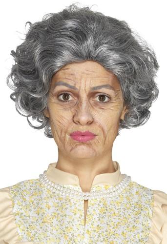 Oude Dame/Heer Make-Up Setje