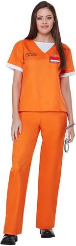Orange is The New Black Gevangene Kostuum voor dames