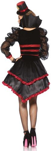 Jurk Victorian Vamp voor dames -2