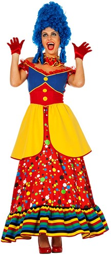 Clownsjurk Lang voor dames