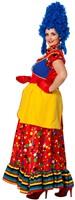 Clownsjurk Lang voor dames -2