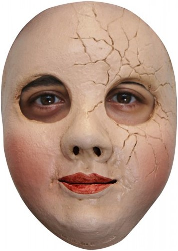 Broken Doll Gezichtsmasker - Pop (latex)