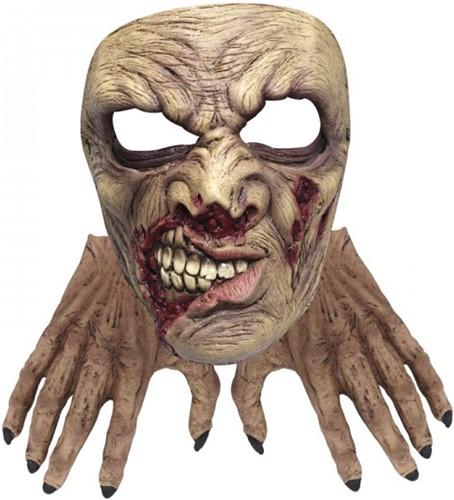 Zombie Set - Handen en Masker (latex)