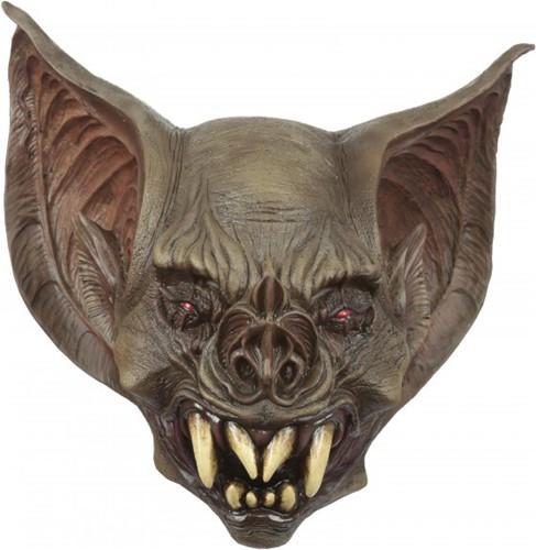 Latex Halloween Masker Bat Creature - Enge Vleermuis