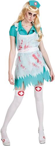 Dameskostuum Bloody Nurse / Verpleegster