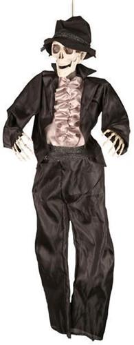 Hangdeco Bruidegom Skelet Halloween (90cm)