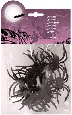 Spinnen in Zakje (12st)