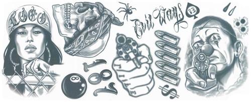 Tattoos Thug Life