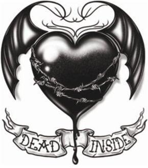 Dead Inside Tattoo (Goth Tattoo)