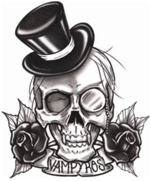 Vampyros Tattoo (Goth Tattoo)