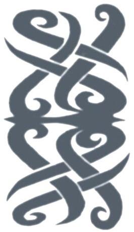 Tatoeage Borneo (Tribal)