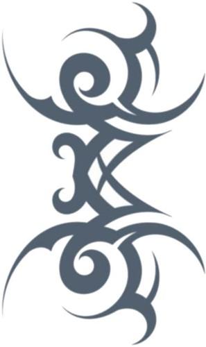 Tatoeage Stamped (Tribal)