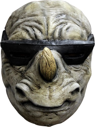 Neushoorn Masker Rocksteady Latex (gezichtsmasker)