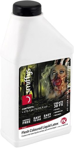 Vloeibare Latex 473ml (huidskleur)