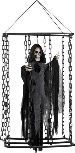 Hangdeco Skelet in Kooi (50cm)