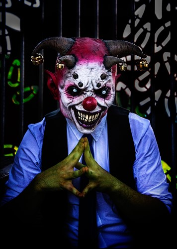 Clown Masker Jingle Jangle Latex (luxe)-2