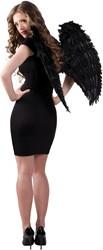 Engelen Vleugels Zwart (65x65cm)