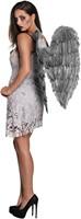 Grijze Engelen Vleugels (65 bij 65 centimeter)