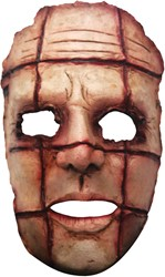 Cut Face Halloween Gezichtsmasker (latex)