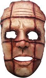 Cut Face Halloween Masker Latex (Gezichtsmasker)
