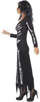 Halloween Skeleton Damesjurk-2