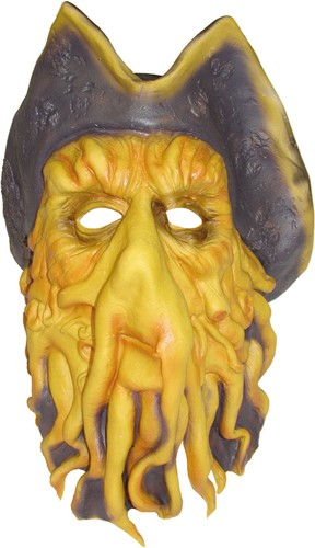 Kapiteins Masker (Davy Jones uit Pirates of the Caribbean)