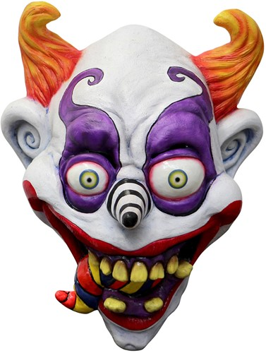Psychedelic Clown Masker Luxe (latex)