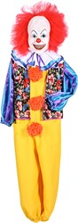 Halloween Kostuum Clown Pennywise IT (3dlg)