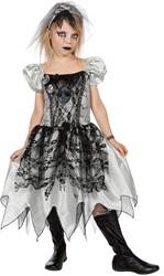 Meisjeskostuum Zombie Bruid