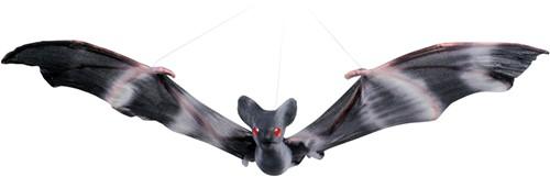 Vliegende Vleermuis Decoratie Zwart (27x52 cm)