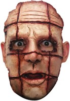 Cut Face Halloween Gezichtsmasker (latex)-2
