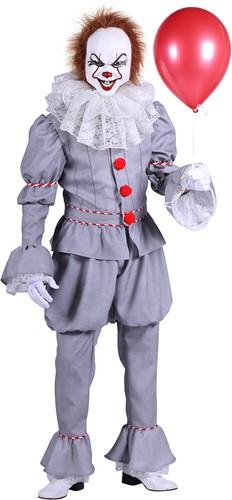 Luxe Herenkostuum Scary Clown Pennywise  uit 'IT'