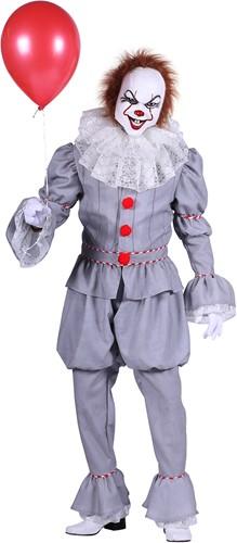 Luxe Herenkostuum Scary Clown Pennywise  uit 'IT'-2