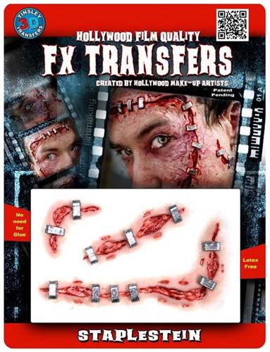 Professionele Special FX Wond - Staplestein (Nietjes)