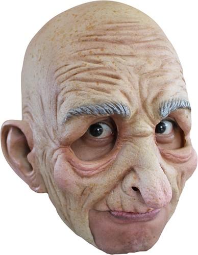 Masker Oude Man / Abraham Latex (Kinloos)