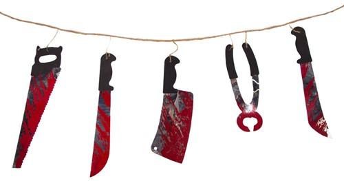 Slinger Bloederig Gereedschap Halloween (1,8m)