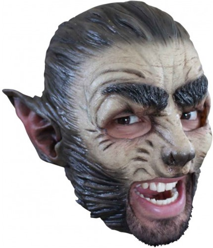 Latex Masker Wolf (Kinloos)