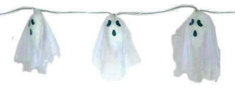 Slinger Halloween Spoken met Licht (170cm)