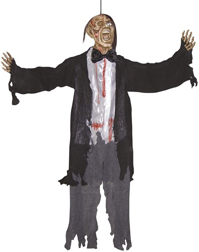 Decoratie Zombie Bruidegom (90cm)