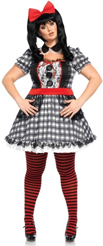 Darling Baby Doll Damesjurkje (Plus Size)