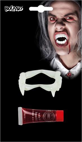Vampier Tanden (met bloed)