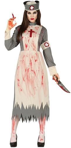 Dameskostuum Halloween Verpleegster