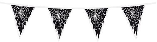 Vlaggenlijn Spinnenweb (15m)