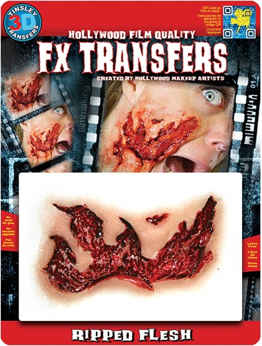 Professionele Special FX Wond - Ripped Flesh