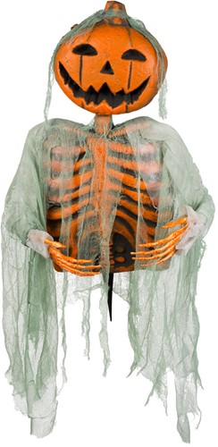 Deco Skelet Mr. Pumpkin (52cm)