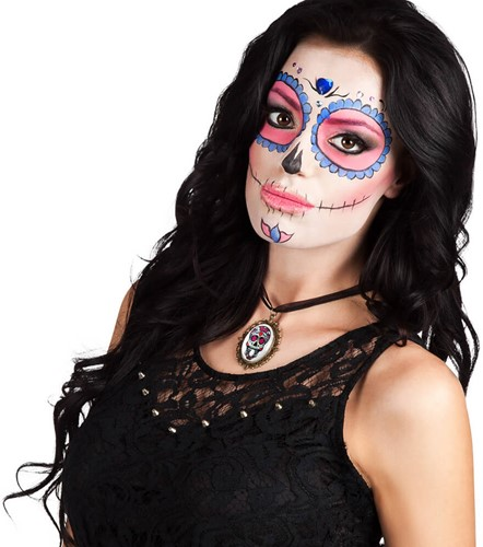 Day of the Dead Calavera Ketting